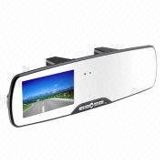 Car DVR rear-view mirror, 2013 new style with Bluetooth from Shenzhen ATR Industry Co. Ltd
