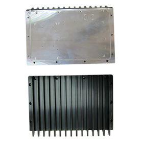 China Aluminum alloy heatsink, anodizing finish