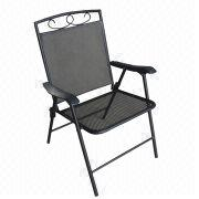 Steel mesh folding chair from China (mainland)