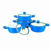 8-piece Forged Aluminum Dutch Oven Set from China (mainland)