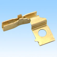 Metal stamped parts, made of brass, compliant with RoHS directive from HLC Metal Parts Ltd