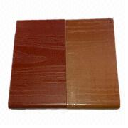 European standard wood plastic decking board from China (mainland)