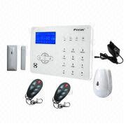 Wireless GSM Alarm System with 433/868MHz Frequency, Built-in Sound Siren