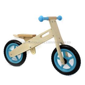 12-inch Kid's Wooden Balance Bike Manufacturer