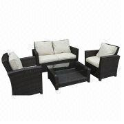 2014 promotional rattan/wicker sofa set from China (mainland)