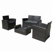 2014 promotional rattan/wicker sofa set