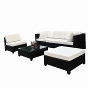 Promotional rattan/wicker sofa set from China (mainland)
