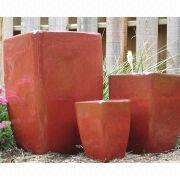 Glazed Outdoor Ceramic Pot from Vietnam