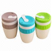 Promo Mug with Silicone Bands, Customized Colors and Logos are Accepted from Iris Fashion Accessories Co.Ltd