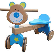 Durable Kid's Wooden Tricycle from China (mainland)