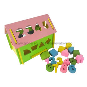 China DIY Wooden Block Puzzle Toy, Conforms EN 71 Test, Customized Colors and Designs are Accepted