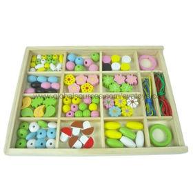 Kid's DIY wooden beads toys Manufacturer