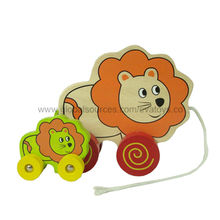 Wooden pull along toys Manufacturer