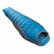 Outdoor Camping Sleeping Bag with Nylon Ripstop and Four-hole Hollow Fiber Filling