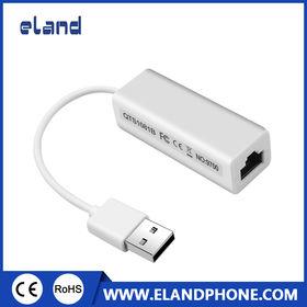 China USB 2.0 RJ45 Lan Network Ethernet Adapter Card 10/100Mbps