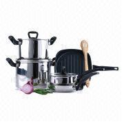 8-piece Stainless Steel Cookware Set from Hong Kong SAR