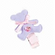 Handmade Teddy Bear Hair Clip from Taiwan