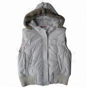 Women's poly vest from China (mainland)