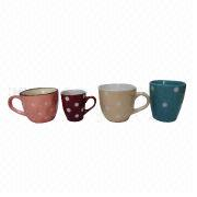 Elegant and Colorful Ceramic Mugs from China (mainland)