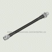 TNC Antenna Cable with HDF-400 RF Plug to F, TNC(M) S/T R/P Coaxial Jack Connector for Car GPS, GSM from EnterTec Technology Inc.