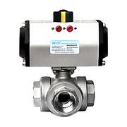 Pneumatic ball valve from China (mainland)