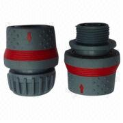 China Soft coated quickly hose connector