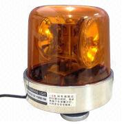 Magnet rotating beacon police car warning light from China (mainland)