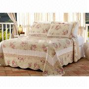 100% Cotton Printed Bedspread Set from China (mainland)