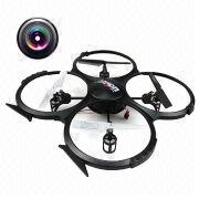 41cm Length HD Camera Built-in 2.4G 4-Axis 3D 5.5CH RC Quadcopter UFO with MEMS Gyro from China (mainland)