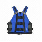 Stylish Paddling Kayak School and Rafting Life Vest from China (mainland)