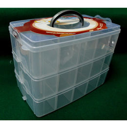 Plastic Stackable Storage Box Manufacturer