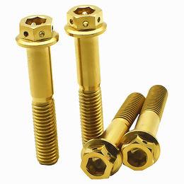 China Custom flat head brass lead ball bolt screw