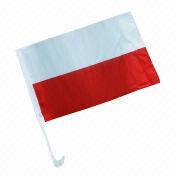 Poland Car Window Flag from China (mainland)