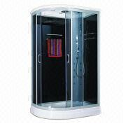 Tempered Grey Glass Steam Shower Room from China (mainland)