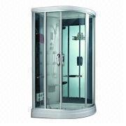 2014 Tempered Glass Grey Bathroom Shower from China (mainland)