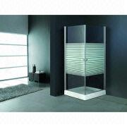 Square sliding door stainless steel shower enclosure from China (mainland)