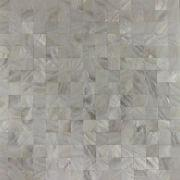 Natural white river shell mosaic tile from China (mainland)