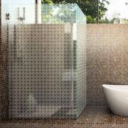 Glass Shower Enclosures Acid Etched Glass Frosted Glass Partition