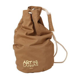 Wholesale Custom Canvas Drawstring Bag, Customized Colors Available, OEM or ODM Orders Welcomed from Fuzhou Oceanal Star Bags Co. Ltd