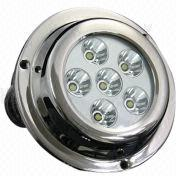 6x3W LED yacht lamp from China (mainland)