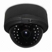 Vandal-proof IR dome camera