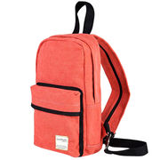 Canvas Backpack, Sized 19 x 11 x 32cm, Made of Cotton Material from Fuzhou Oceanal Star Bags Co. Ltd