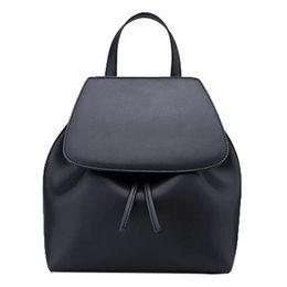 China Latest Designer PU Backpack High Quality Ladies Ba