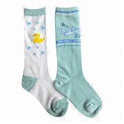 Children's knee hi socks from China (mainland)