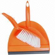 Plastic brooms and dustpans from China (mainland)