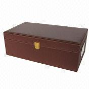 Leather wine gift boxes from China (mainland)