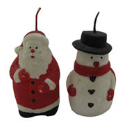 China Snowman-shaped Scented Candles