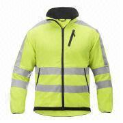 Yellow Fleece Jacket from China (mainland)