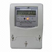 Single-phase Two-wire Electric Power Meter from China (mainland)