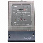 Three-phase Four-wire Electric Energy Meter from China (mainland)